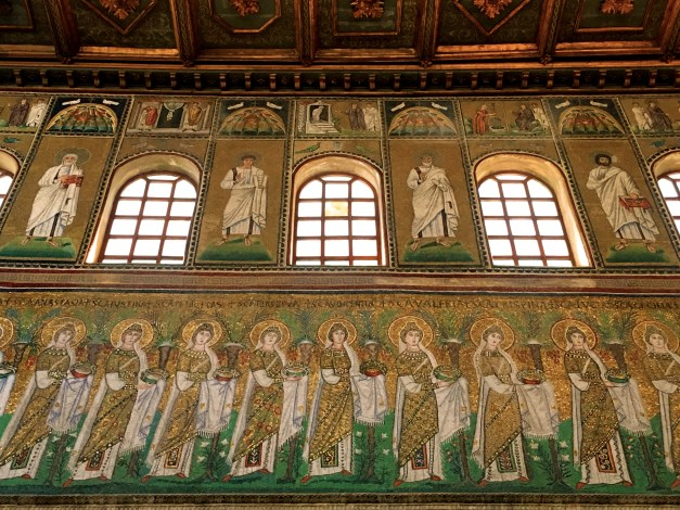 More mosaics from the Basilica of San Apollinare Nuovo