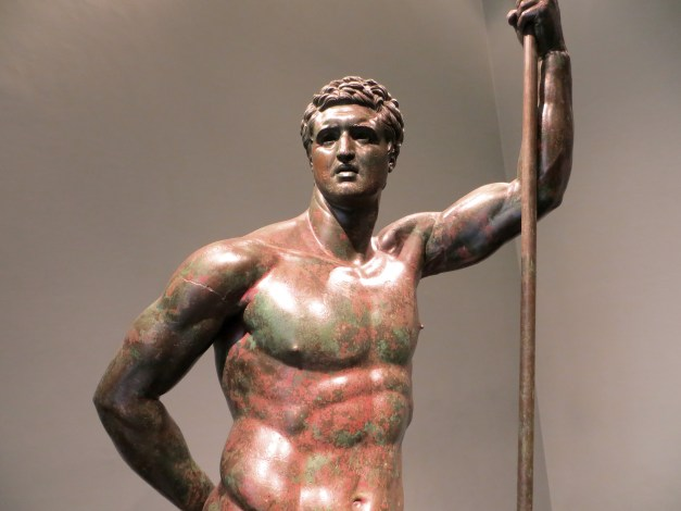 An athlete, another original Greek bronze from the Museo Nazionale Romano