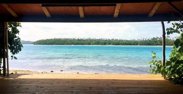 Oddly, the best Internet access was at the yoga shelter. We didn't do any yoga but we did enjoy the view.