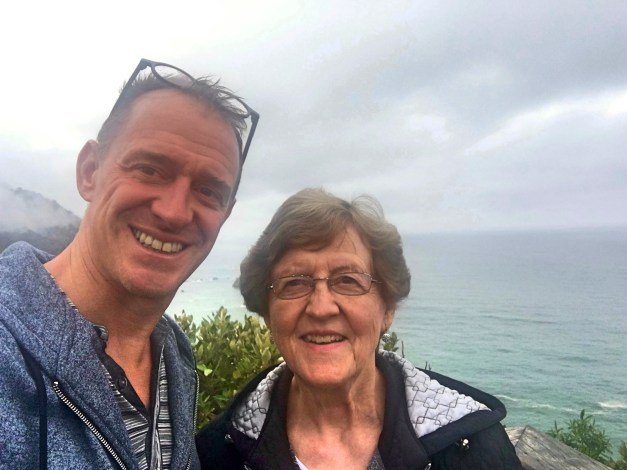 Mark & his Mom