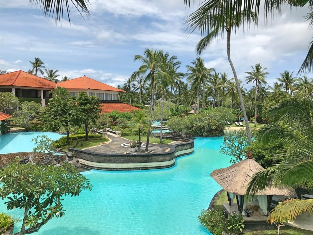 The Laguna resort - fabulous pools and a great beach