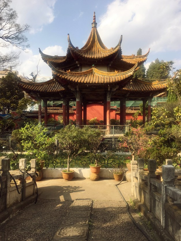 A cool Chinese temple