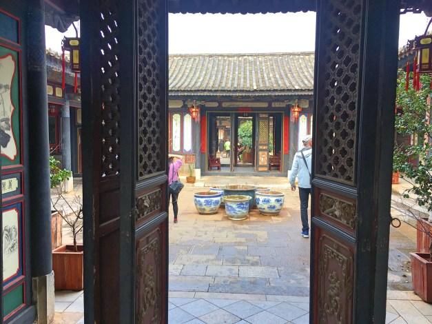 Inside the Zhu Family residence