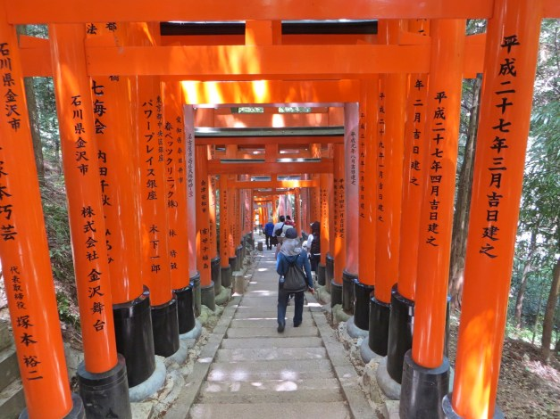I didn't realize the hike up to Fushimi Inari-Taisha was going to take well over an hour, but it was worth it