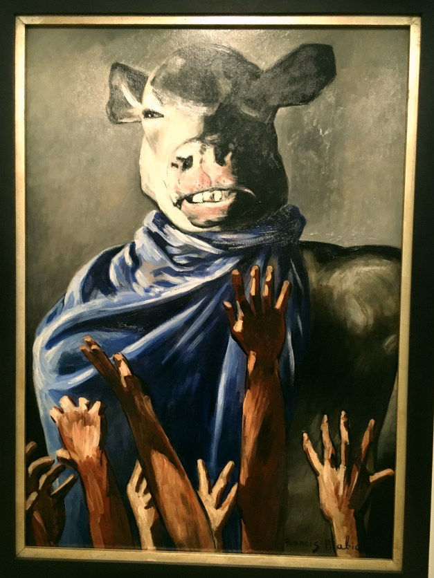 "Francis Picabia's ""Adoration of the Cow"" from the Pompidou Center. I'm sure there's deep meaning here..."