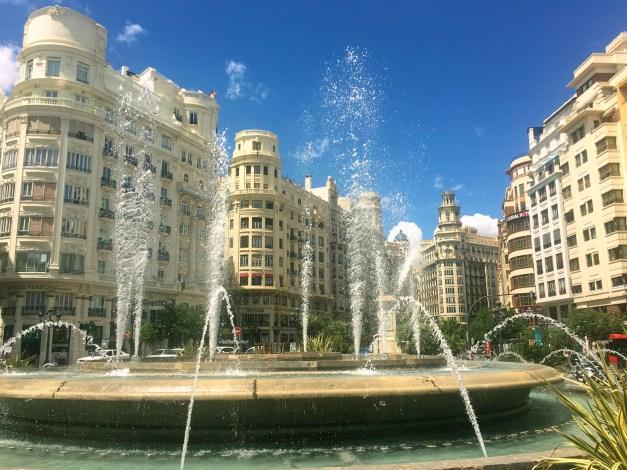 Grand architecture in València