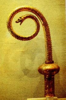Serpent crosiers