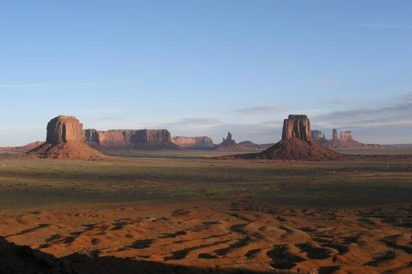 Monument Valley Plain