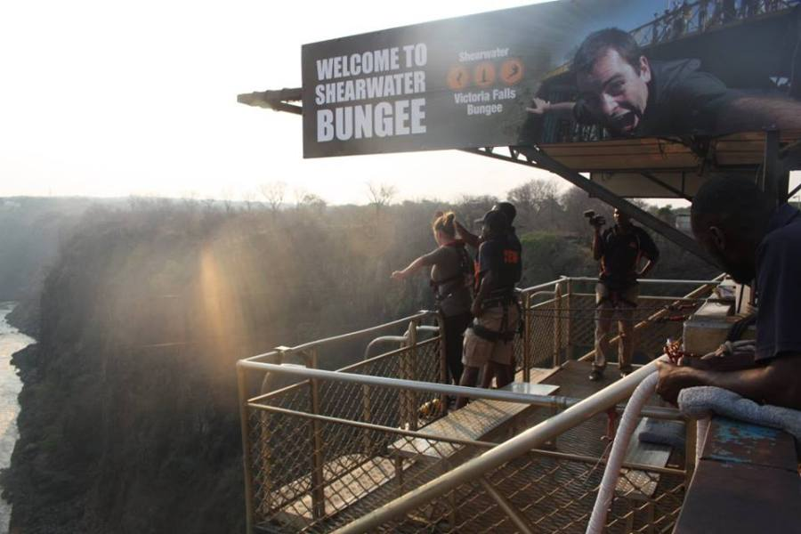 Bungee over Victoria Falls