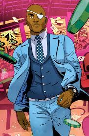 Black Superheroes-Nick Fury, Jr.