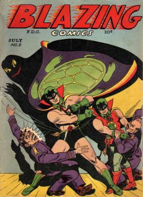 Green Turtle and Burma Boy Chinese Superheroes
