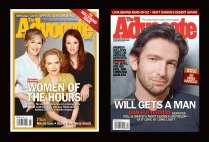 The Advocate Magazine Covers