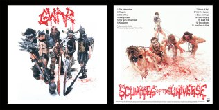 Gwar: Scumdogs of the Universe; LP Sleeve Unpublished original version) design and photography