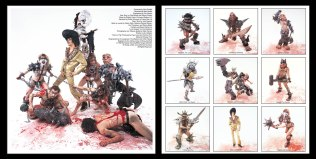 Gwar: Scumdogs of the Universe; LP Sleeve insert (original unpublished version), design and photography