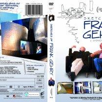 Sketches of Frank Gehry DVD packaging (original design unpublished version)