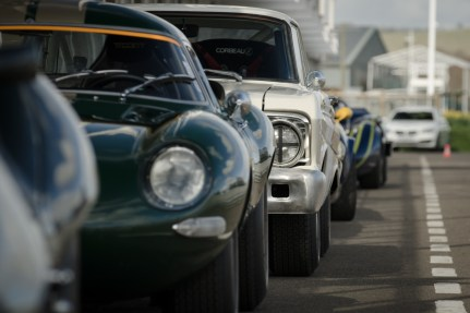 Parked up in the Pit Lane