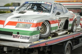 Chassis Failure on the Gerry Marshall Vauxhall