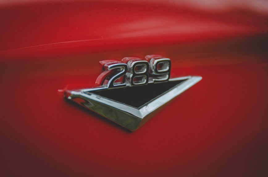 Ford Mustang 289 Wing Badge