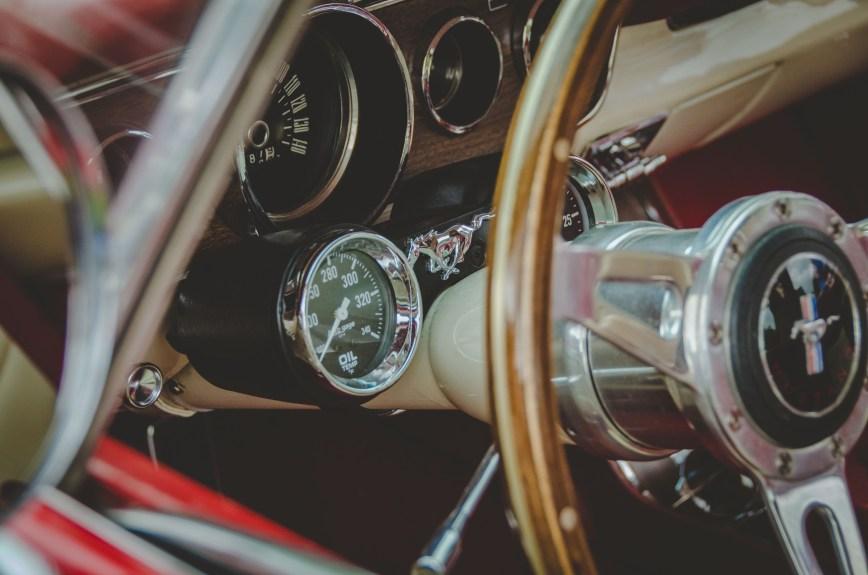 Ford Mustang Interior Dials