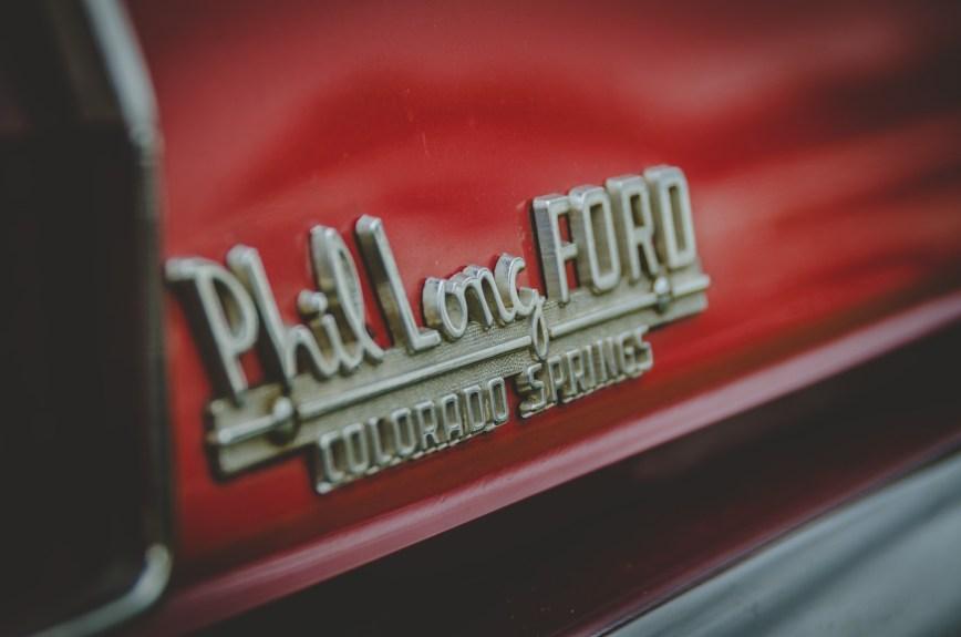 Ford Mustang Dealer Badge