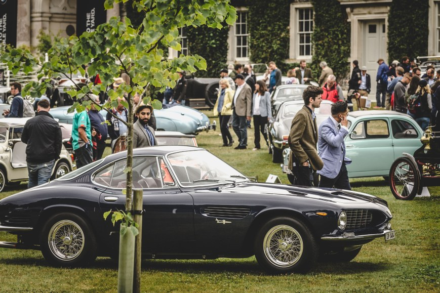 Ferrari in the Cartier Style et Luxe Display Goodwood Festival of Speed 2017