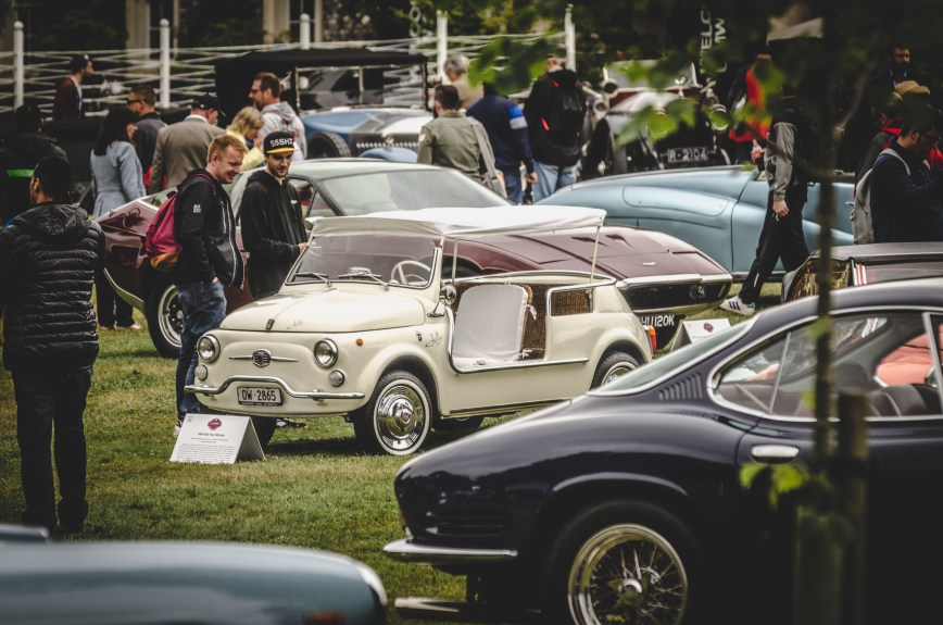Convertible Fiat 500 Goodwood Festival of Speed 2017