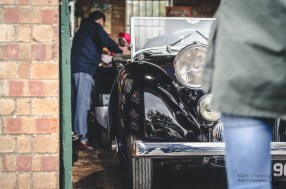Alvis Classic Car at Bicester Heritage Sunday Scramble