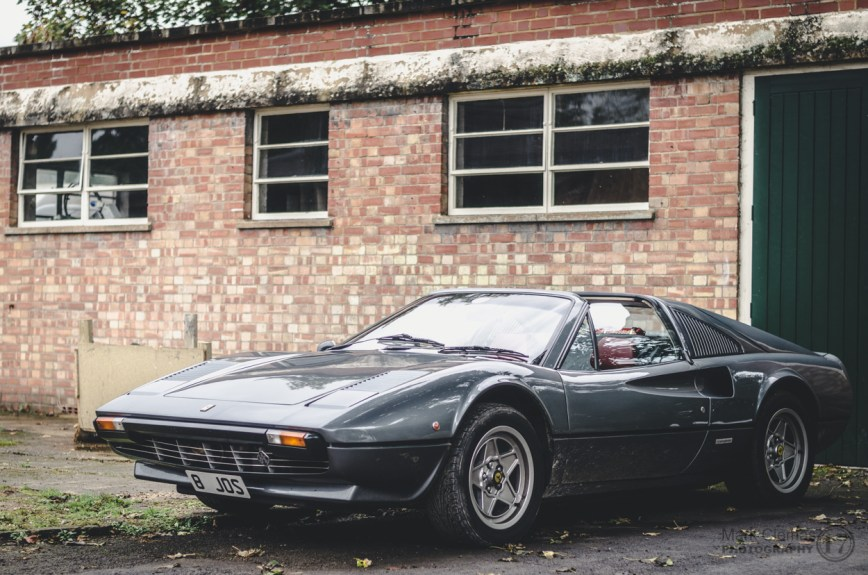 Ferrari Classic Car at Bicester Heritage Sunday Scramble