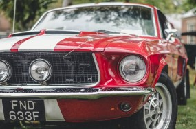 Ford Mustang Classic Car at Bicester Heritage Sunday Scramble