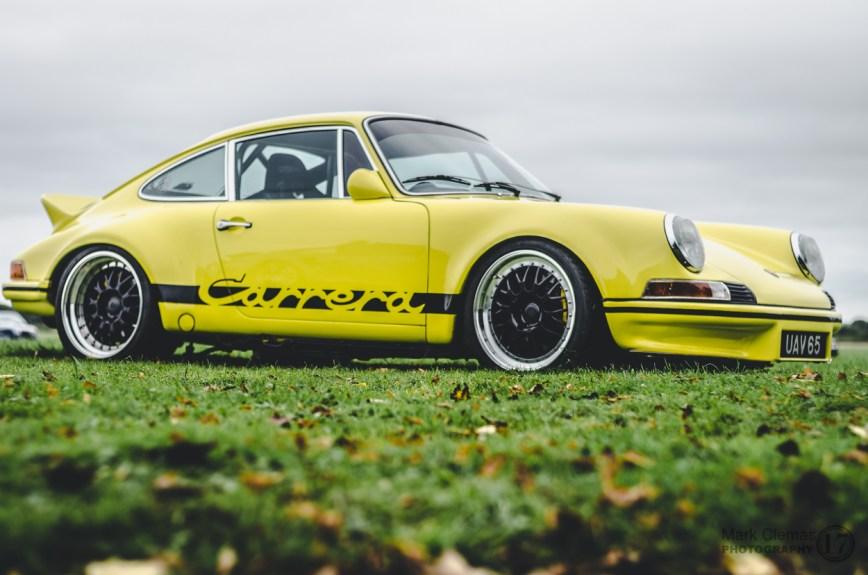 Porsche Classic Car at Bicester Heritage Sunday Scramble