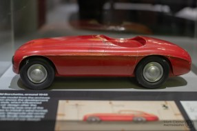 Ferrari 166 MM Wooden Design Model