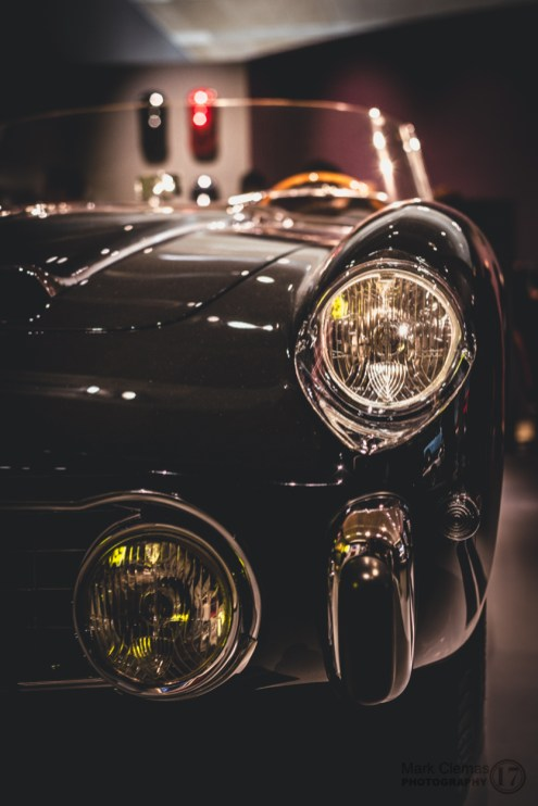 Ferrari Headlight Detail