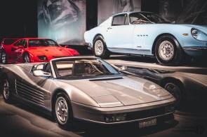 Three Classic Ferrari Cars