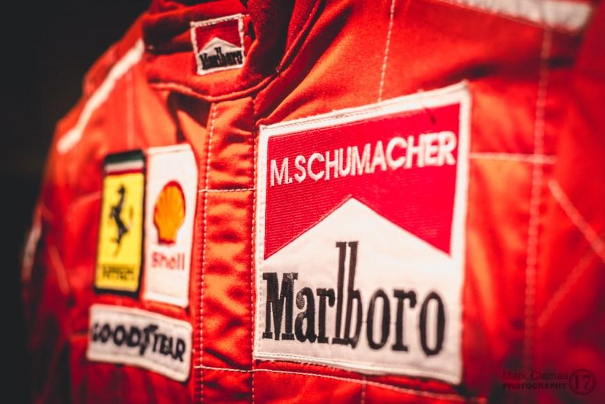 Michael Schumacher F1 racing Suit