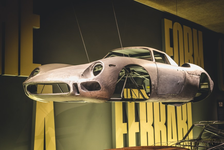 Aluminum Ferrari Body Shell