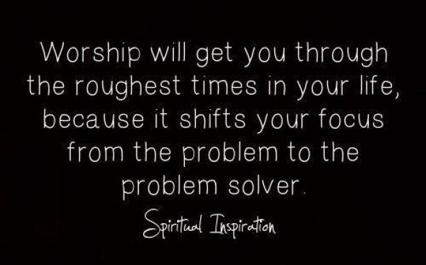 Worship focus