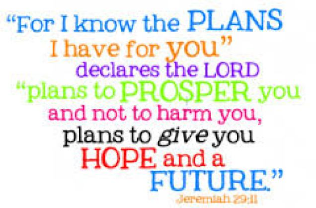 For I know the plans..