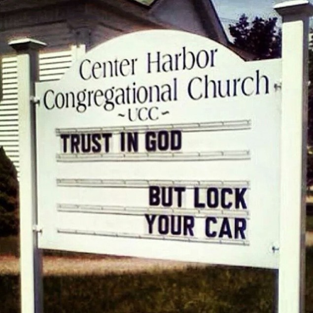 but lock your car
