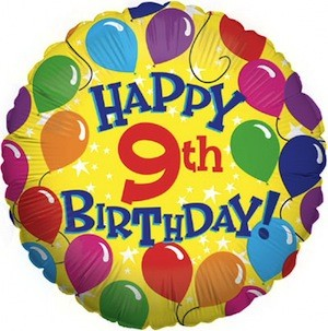 happy 9th birthday markd60 s third time