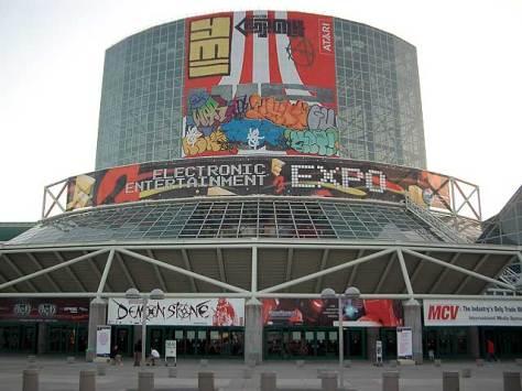 outside LACC before E3 started