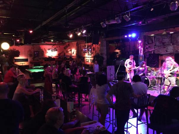 Mark Dobis at The Edge Lounge, with R-A-M