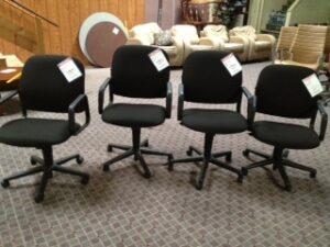 Ergonomic Executive Fabric Chairs.
