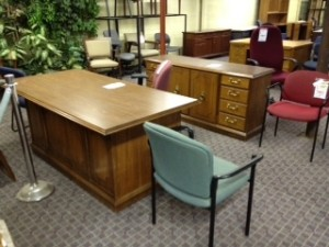 Buying used office furniture can save you money and time, and nobody will know the difference.