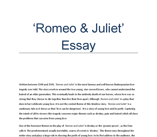 and juliet essay questions romeo and juliet essay questions