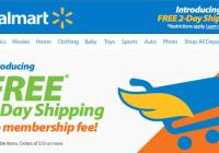 Walmart Two Day Shipping Ad
