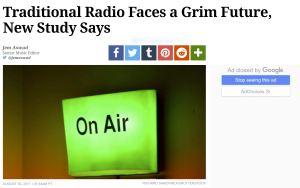 Variety radio story
