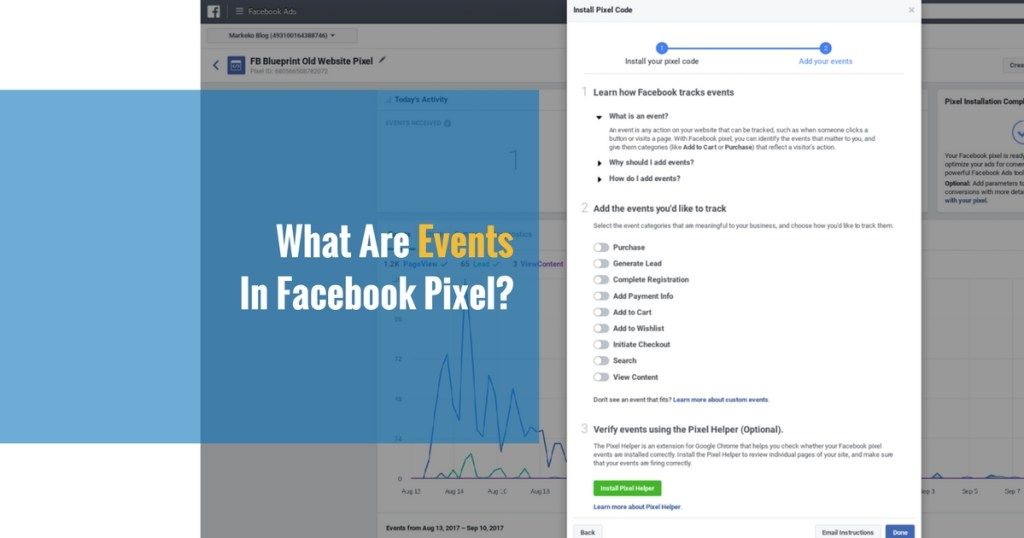 How to measure your marketing funnel with facebook pixel part 1 facebook pixel events malvernweather Images