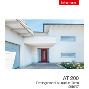 Internorm-Alutür AT200