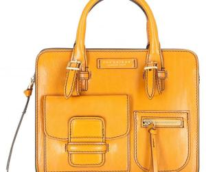 The Bridge Cortona Shopper 26 cm – giallo senape