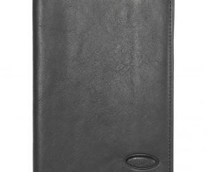 Brics Monte Rosa Passport Holder Hochformat 14 cm RFID – schwarz
